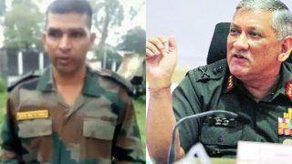 जवान का वीडियो वायरल होने के बाद बोले सेना प्रमुख, सोशल मीडिया पर न करें शिकायत
