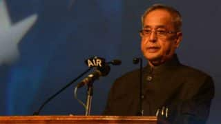 India has a long way to go to become a cashless society: President Pranab Mukherjee