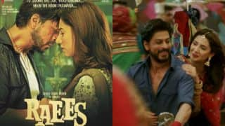 Shah Rukh Khan-Mahira Khan's chemistry in Raees displayed through new posters and 8 other romantic pictures!