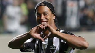 Ronaldinho returns to Barcelona as ambassador