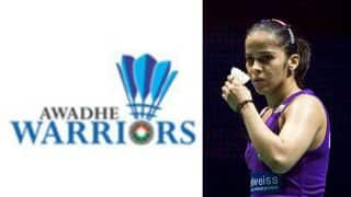 PBL 2017 Awadhe Warriors Vs Delhi Acers Highlights & Match Result: Saina Nehwal wins in straight sets as Awadhe Warriors thrash Delhi Acers