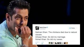 Blackbuck poaching case: Salman Khan trolled on Twitter for claiming blackbuck died of natural causes! These are the Best Jokes on Bhaijaan!