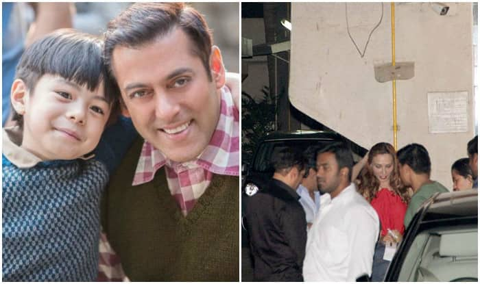 Salman Khan introduces his little co-star Matin