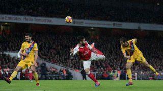 Olivier Giroud scores an amazing scorpion kick: Watch the video here