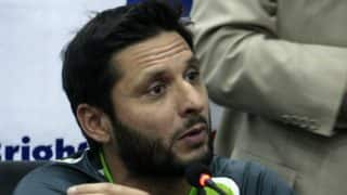 Shahid Afridi wants PCB to bar tainted cricketers from all formats to stop corruption