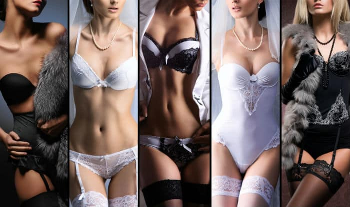 Buying sexy lingerie