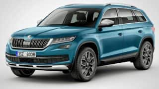 Skoda Kodiaq Scout off-road SUV unveiled; India launch likely in H2 2017