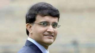 IPL 2019: 'Visitor' Sourav Ganguly Cynosure of All Eyes at Eden Gardens