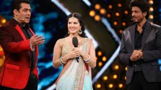Salman Khan & Shah Rukh Khan together made Sunny Leone lose her cool on Bigg Boss 10 sets, read deets