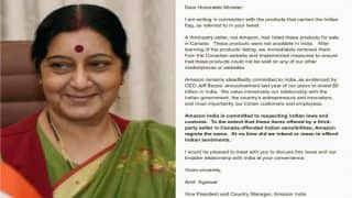 Sushma Swaraj forced Amazon to regret for hurting Indian sentiments, but still it's not a victory