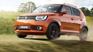 Maruti Suzuki Ignis Launch, LIVE Updates: Price in India starts at INR 4.59 lakh, gets dual airbags & ABS with EBD as standard; top end variant gets LED headlamps