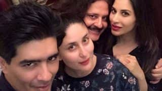 Sexy momma Kareena Kapoor Khan back to partying mode; meets Manish Malhotra for dinner!