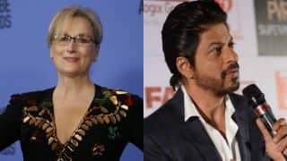 Shah Rukh Khan lashes out: 'Why do you want me to be like Meryl Streep? Being a copycat is stupid'