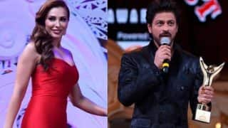 Stardust Awards 2016: Salman Khan's girlfriend Iulia Vantur surprises Raees Shah Rukh Khan with her flawless Hindi!
