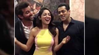 Bigg Boss 10: Salman Khan dances with Kaabil jodi yummy Yami Gautam and handsome Hrithik Roshan! (Watch video!)