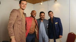 Tennis stars Daniil Medvedev, Nicholas Monroe and Damir Dzumhur add glitter to Lalit Dalmia's Chennai Open fashion show