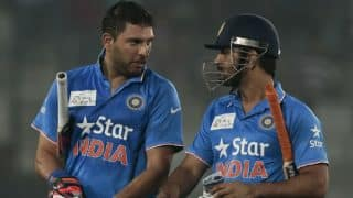 Yuvraj Singh praises MS Dhoni for his captaincy, thanks him for the opportunity to slog! (Watch Video)