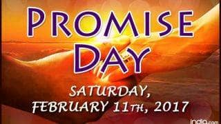 Happy Promise Day 2017 Wishes: Best Quotes, SMS, Facebook Status & WhatsApp Messages to send Happy Promise Day greetings!