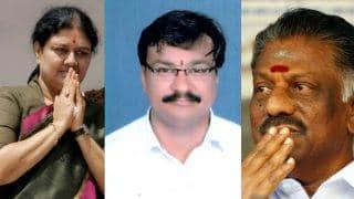 TN Politician Saravanan scales wall to escape Sasikala and join Panneerselvam's gang: Twitter laughs out loud on AIADMK MLA's run