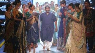 Gaurang Shah at Lakme Fashion Week 2017: Fashion industry has embraced handlooms with admiration