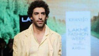 Charming showstopper Jim Sarbh's canary yellow linen biker jacket will make you want to update your summer wardrobe!