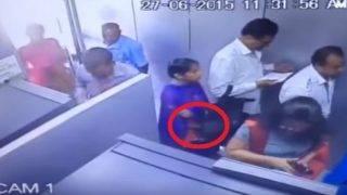 CCTV footage of woman robbing man in ATM goes viral! (Watch Video)