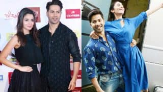 When Alia Bhatt and Varun Dhawan went color-twinning in Black and Blue for Badrinath Ki Dulhania promotions!