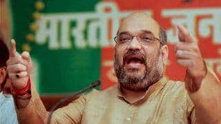 BJP President Amit Shah reaches Jammu and Kashmir on his two-day visit