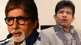 Amitabh Bachchan reacts to Kamaal R Khan's tweet on Sarkar 3 Box Office