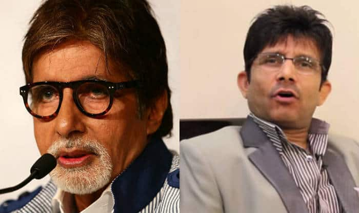 KRK leaks text message from Amitabh Bachchan, Big B reacts
