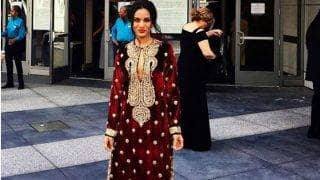 Grammy Awards 2017: Anoushka Shankar's exquisite style play in a Sabyasachi Mukherjee creation! View pictures!