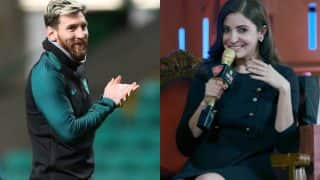 Lionel Messi is waiting for release of Phillauri; Anushka Sharma tweets a 'messi'ng' reply