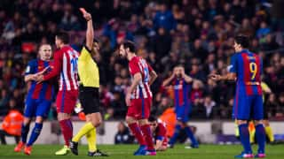 Barcelona hold Atletico Madrid to draw, book King's Cup final place