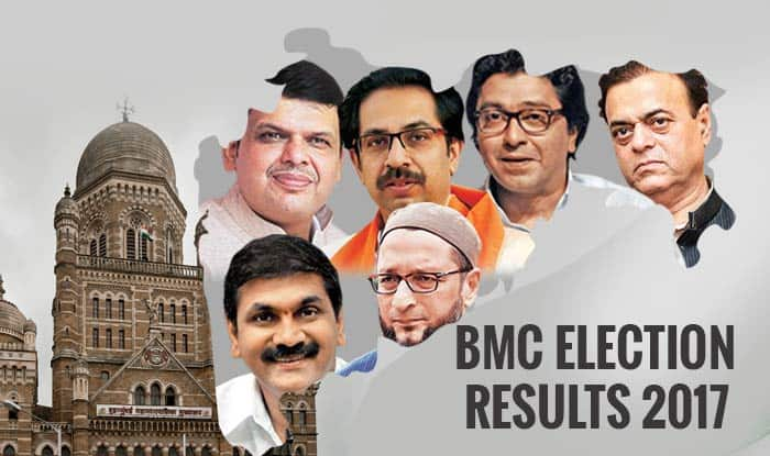 BMC Election Results 2017 LIVE News Updates