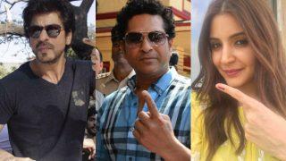 Shah Rukh Khan, Sachin Tendulkar, Anushka Sharma lead BMC Elections 2017 star-studded celebrity voters' list (See pictures)