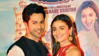 Badrinath Ki Dulhania trailer launch pictures: Alia Bhatt and Varun Dhawan look adorable and stylish!