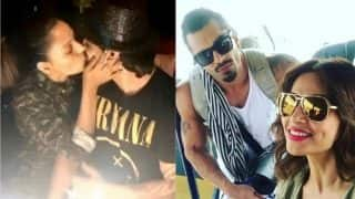 Bipasha Basu surprises Karan Singh Grover on his birthday with kiss and Goa trip! (Watch video)