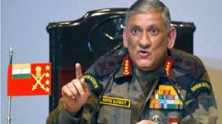 Army Chief Bipin Rawat issues strong warning to stone pelters in Jammu & Kashmir, promises same punishment as Jihadis