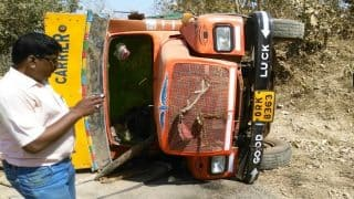 Odisha: 6 dead, 4 critically injured after truck overturns in Kalahandi district