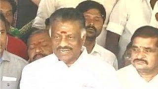 Panneerselvam camp sets tough terms for Palaniswami camp, says talks only if demands are met