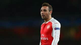 Arsenal's injured Santi Cazorla out for rest of season
