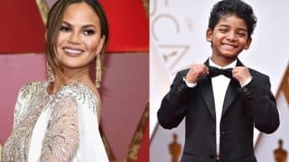 Oscars 2017: Chrissy Teigen's fangirl moment on meeting Sunny Pawar, the Lion actor is too cute to miss!