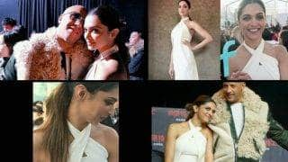 Deepika Padukone spotted in Beijing in pristine white gown for xXx: Return of Xander Cage promotions!