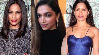 Deepika Padukone, Frieda Pinṭo and Priyanka Bose stir up a stylish storm at Oscars 2017 Pre-Awards cocktail party!