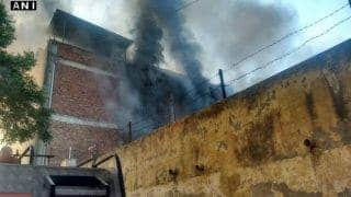 Delhi: Massive fire in Mundka factory; situation not under control