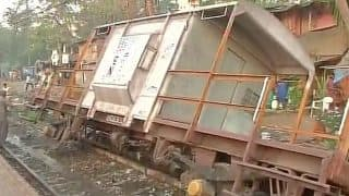 Central Railway: Harbour line services hit after derailment of goods train