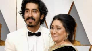 Oscars 2017: Dev Patel brings his mom to the Academy Awards