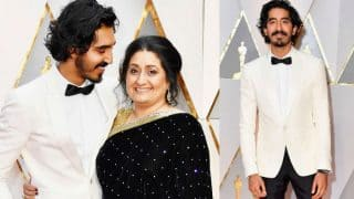 Oscars 2017: Dev Patel brings his mother and a seriously dapper charm to the red carpet!