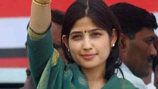 Dimple Yadav comes up with new 'Kasab' acronym