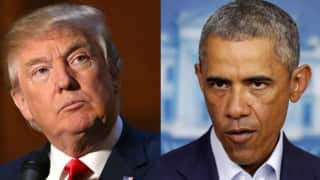 Donald Trump says Barack Obama behind administration leaks, protests
